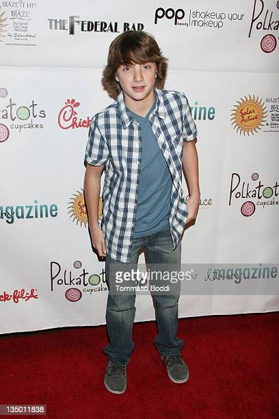 Actor Jake Short attends the Dream Magazine's Winter Wonderland Holidy Party held at The Federal on December 5 2011 in North Hollywood California