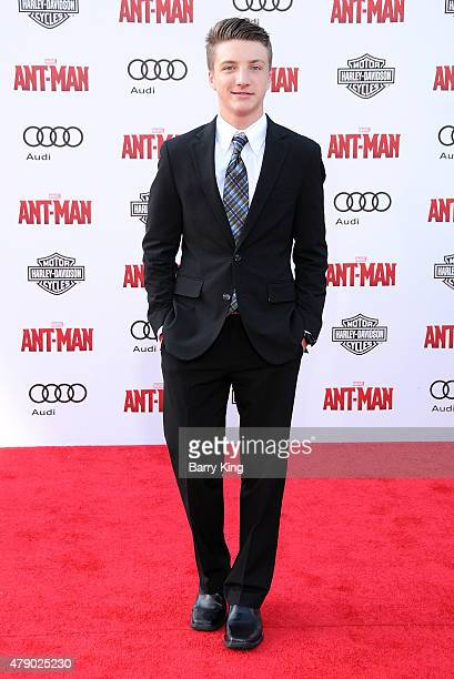 Actor Jake Short attends the premiere of Marvel's 'AntMan' at the Dolby Theatre on June 29 2015 in Hollywood California