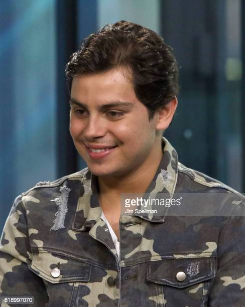Actor Jake T Austin attends Build to discuss their new movie 'The Emoji Movie' at Build Studio on July 19 2017 in New York City