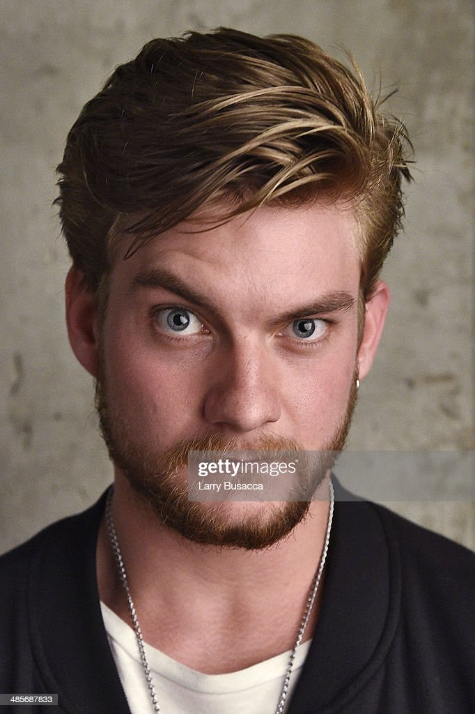 Actor Jake Weary from 'Zombeavers' poses for the 2014 Tribeca Film Festival Getty Images Studio on April 19, 2014 in New York City.