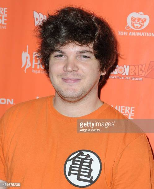 Actor Jake White attends the premiere of 'Dragon Ball Z Battle Of Gods' at Regal Cinemas LA Live on July 3 2014 in Los Angeles California