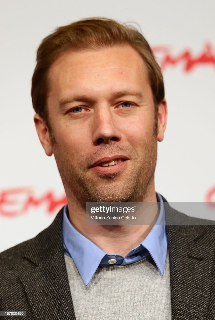 Actor <a gi-track='captionPersonalityLinkClicked' href=/galleries/search?phrase=Jakob+Cedergren&family=editorial&specificpeople=2394592 ng-click='$event.stopPropagation()'>Jakob Cedergren</a> attends the 'Sorrow And Joy' Photocall during the 8th Rome Film Festival at the Auditorium Parco Della Musica on November 11, 2013 in Rome, Italy.