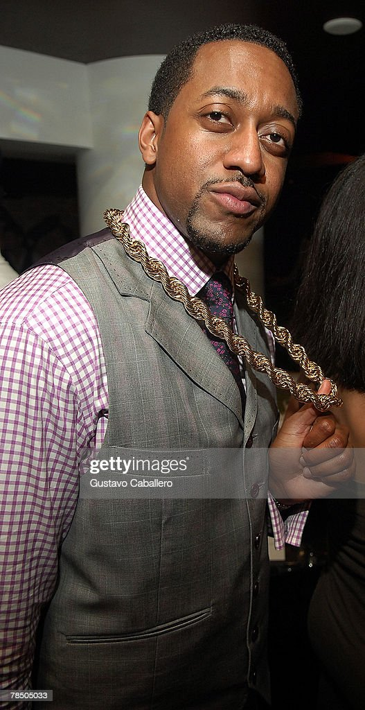 Actor Jaleel White poses at Jamie Foxx's 40th birthday party hosted by Belvedere Vodka at The Florida Room at the Delano Hotel on December 15, 2007 in Miami Beach, Florida.