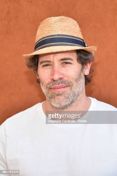 Actor Jalil Lespert attends the 2017 French Tennis Open Day Five at Roland Garros on June 1 2017 in Paris France