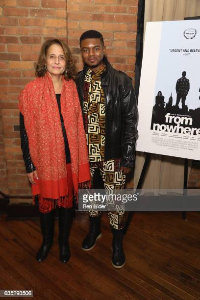 Actor Jamal MalloryMcCree and guest attend the Special Screening Of FilmRise's 'From Nowhere' at Tribeca Screening Room on February 13 2017 in New...