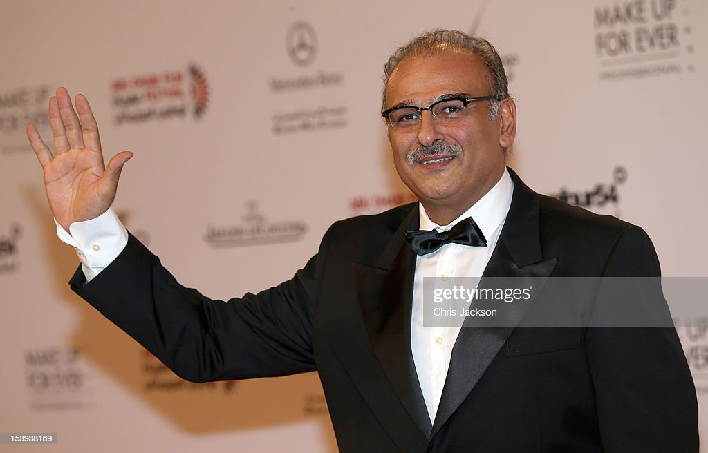 Actor Jamal Soliman attends day one of the Abu Dhabi Film Festival 2012 at Emirates Palace on October 11, 2012 in Abu Dhabi, United Arab Emirates.