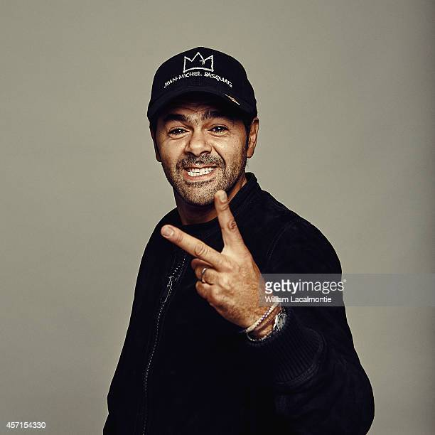 Actor Jamel Debbouze is photographed for Le Film Francais in Deauville France