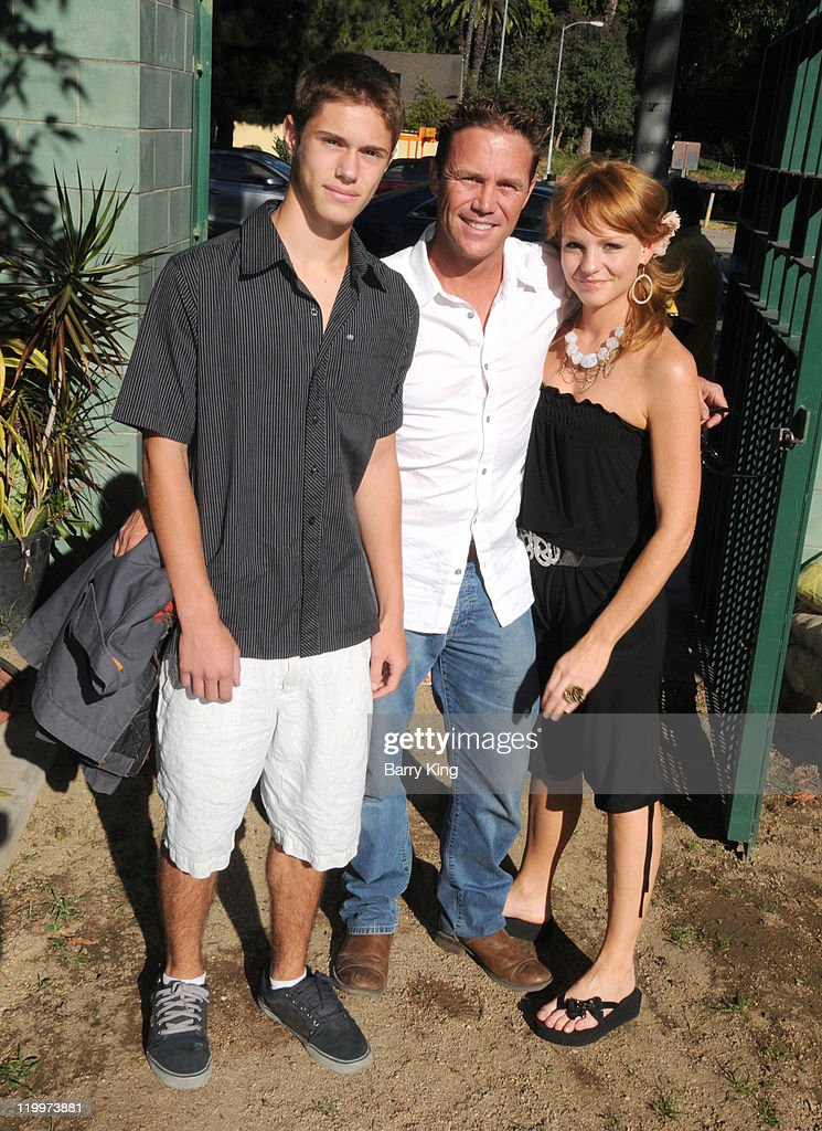 Actor Jamen Krause, actor Brian Krause and actress Anne Leighton attend the Los Angeles Philharmonic and Venice Magazine's 11th Annual Hollywood Bowl Pre-Concert Picnic held at Camrose Picnic area on July 26, 2011 in Hollywood, California.