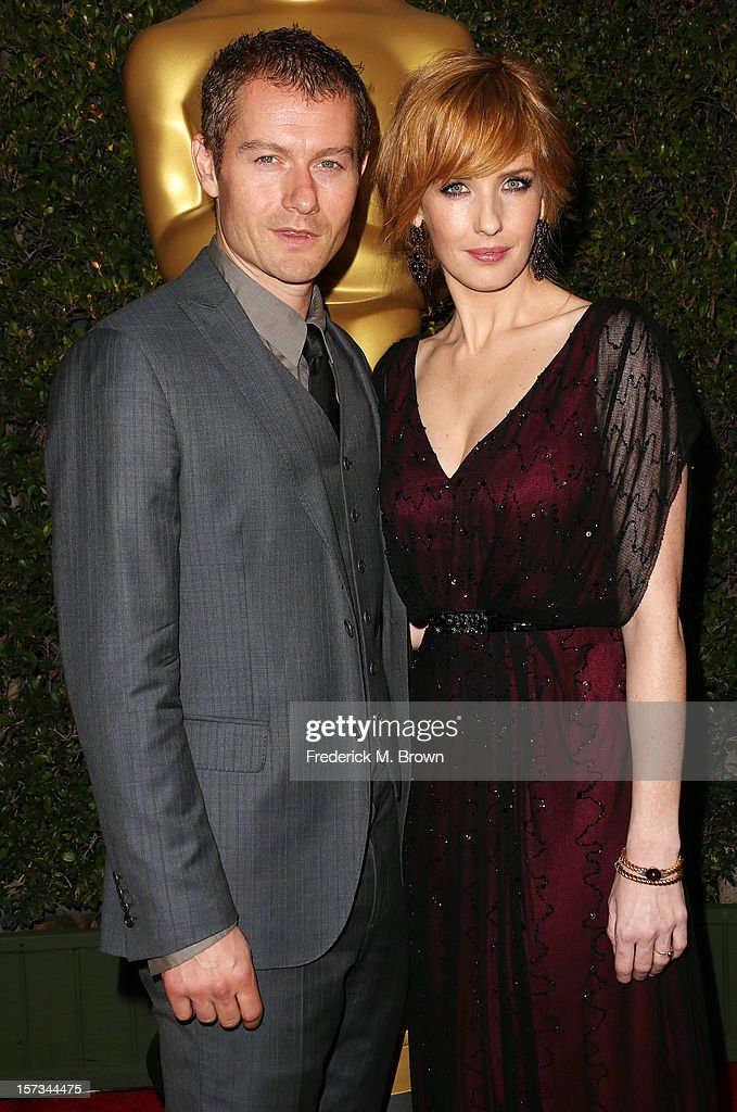 Actor James Badge Dale (L) and actress Kelly Reilly attend the Academy Of Motion Picture Arts And Sciences' 4th Annual Governors Awards at Hollywood and Highland on December 1, 2012 in Hollywood, California.