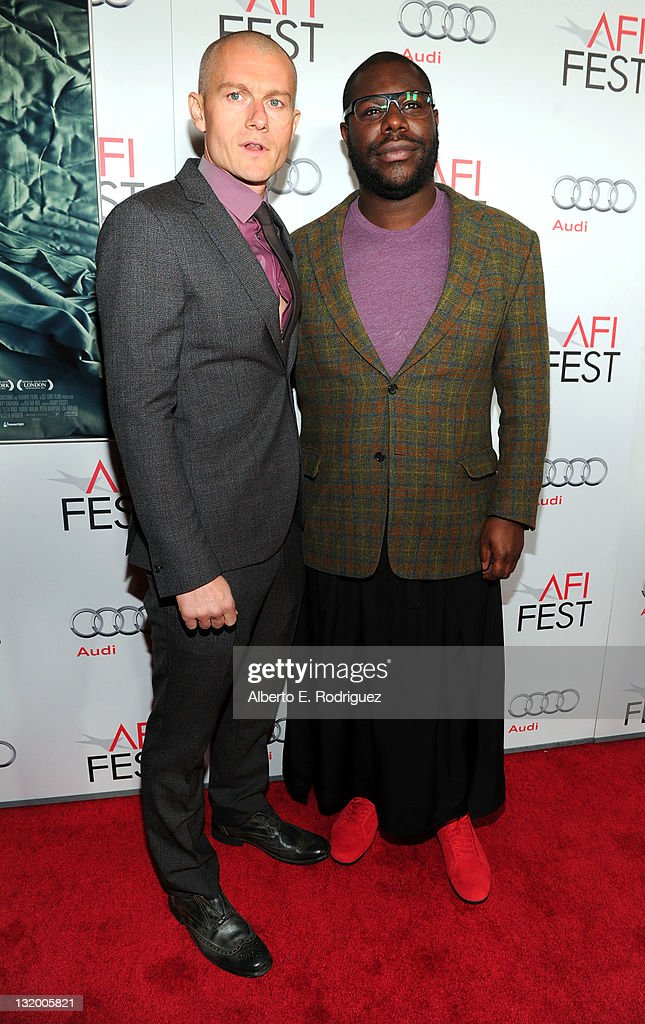 Actor James Badge Dale and Writer/Director Steve McQueen arrive at 'Shame' Gala Screening during AFI FEST 2011 Presented By Audi on November 9 2011...