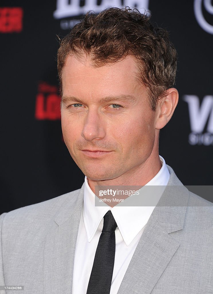 Actor James Badge Dale arrives at 'The Lone Ranger' World Premiere at Disney's California Adventure on June 22 2013 in Anaheim California