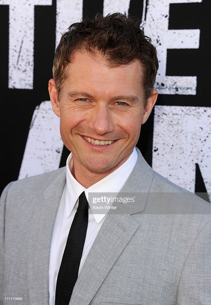 Actor James Badge Dale arrives at the premiere of Walt Disney Pictures' 'The Lone Ranger' at Disney California Adventure Park on June 22 2013 in...
