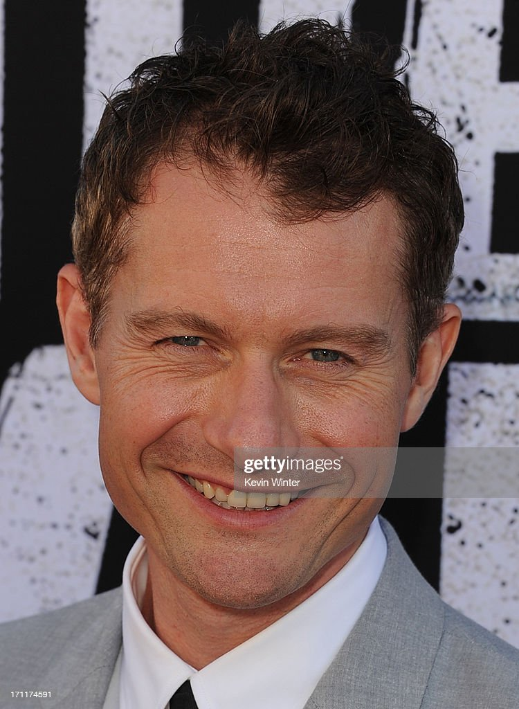 Actor <a gi-track='captionPersonalityLinkClicked' href=/galleries/search?phrase=James+Badge+Dale&family=editorial&specificpeople=3090483 ng-click='$event.stopPropagation()'>James Badge Dale</a> arrives at the premiere of Walt Disney Pictures' 'The Lone Ranger' at Disney California Adventure Park on June 22, 2013 in Anaheim, California.