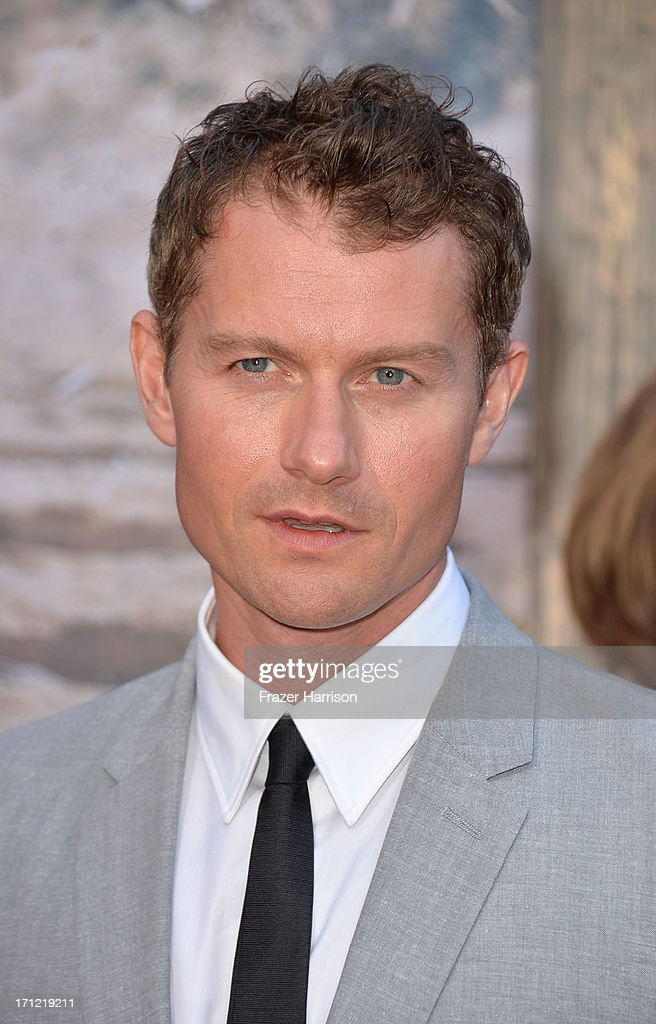 Actor James Badge Dale arrives at the premiere of Walt Disney Pictures' 'The Lone Ranger' at Disney California Adventure Park on June 22, 2013 in Anaheim, California.