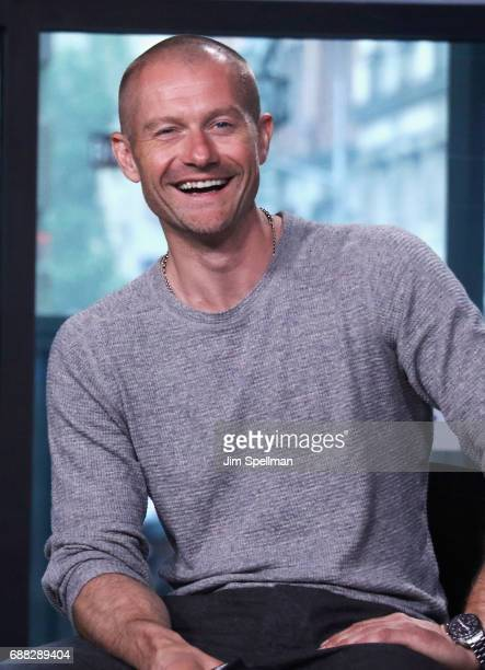 Actor James Badge Dale attends Build to discuss 'Building The Wall' at Build Studio on May 25 2017 in New York City