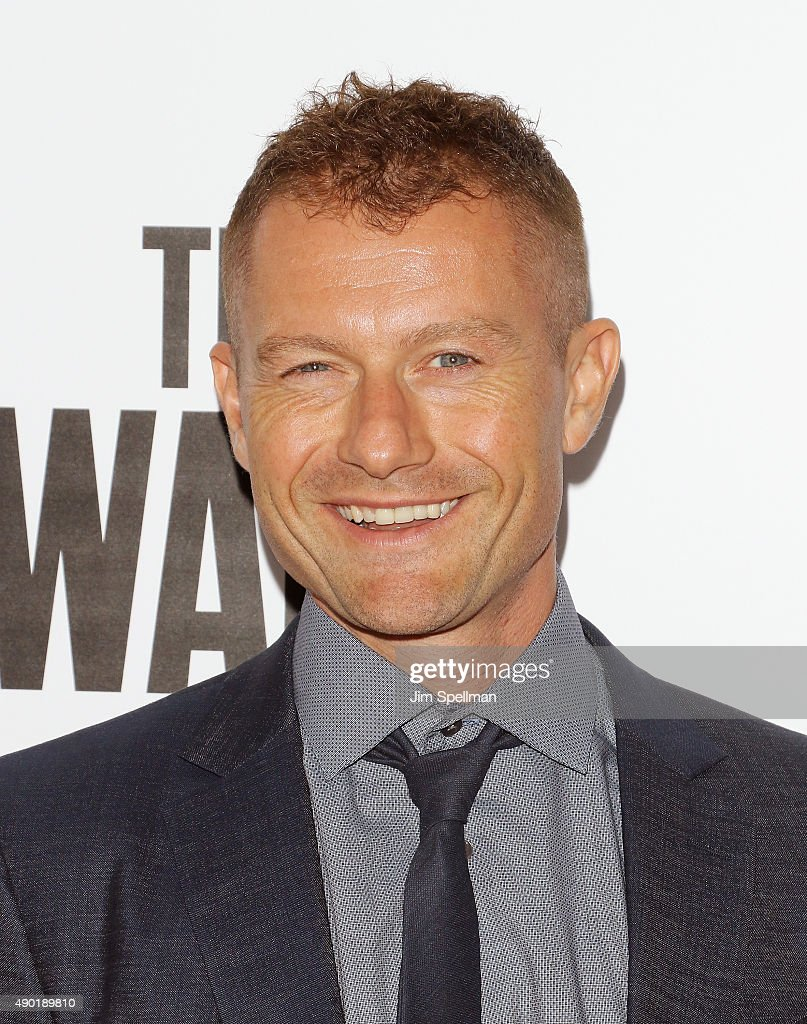 Actor James Badge Dale attends the 53rd New York Film Festival opening night gala presentation and 'The Walk' world premiere at Alice Tully Hall at...