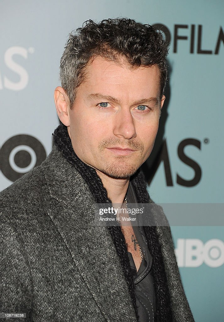 Actor James Badge Dale attends the HBO Films The Cinema Society screening of 'Sunset Limited' at the Time Warner Screening Room on February 1 2011 in...