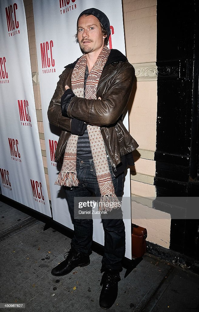 Actor James Badge Dale attends the 'Small Engine Repair' Opening Night after party at 49 Grove on November 20 2013 in New York City