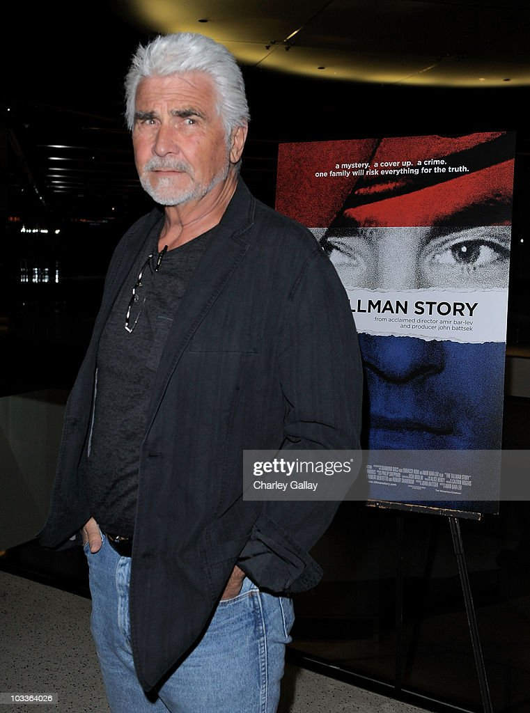 Actor <a gi-track='captionPersonalityLinkClicked' href=/galleries/search?phrase=James+Brolin&family=editorial&specificpeople=213029 ng-click='$event.stopPropagation()'>James Brolin</a> attends a special screening of The Weinstein Company's 'The Tillman Story' at the Pacific Design Center on August 12, 2010 in Los Angeles, California.