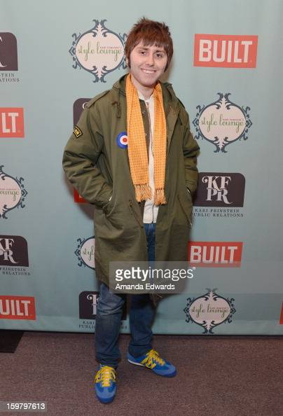 Actor James Buckley attends Day 3 of the Kari Feinstein Style Lounge on January 20 2013 in Park City Utah