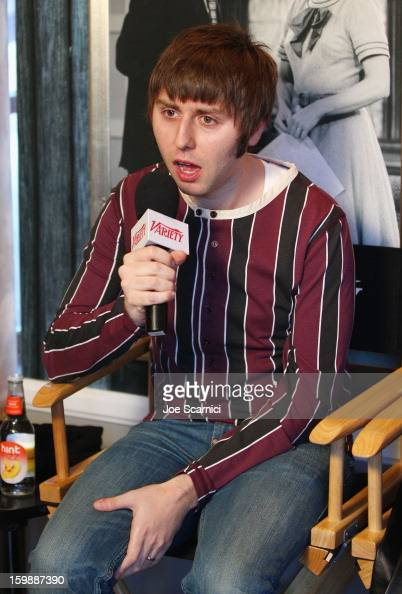Actor James Buckley attends Day 4 of the Variety Studio at 2013 Sundance Film Festival on January 22 2013 in Park City Utah