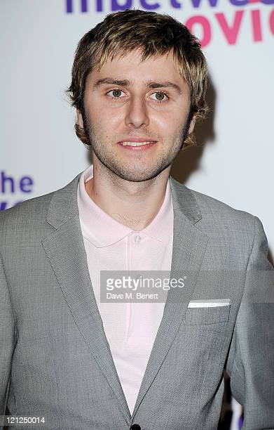 Actor James Buckley attends the World Film Premiere of 'The Inbetweeners Movie' at Vue West End on August 16 2011 in London England