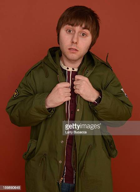 Actor James Buckley poses for a portrait during the 2013 Sundance Film Festival at the Getty Images Portrait Studio at Village at the Lift on January...