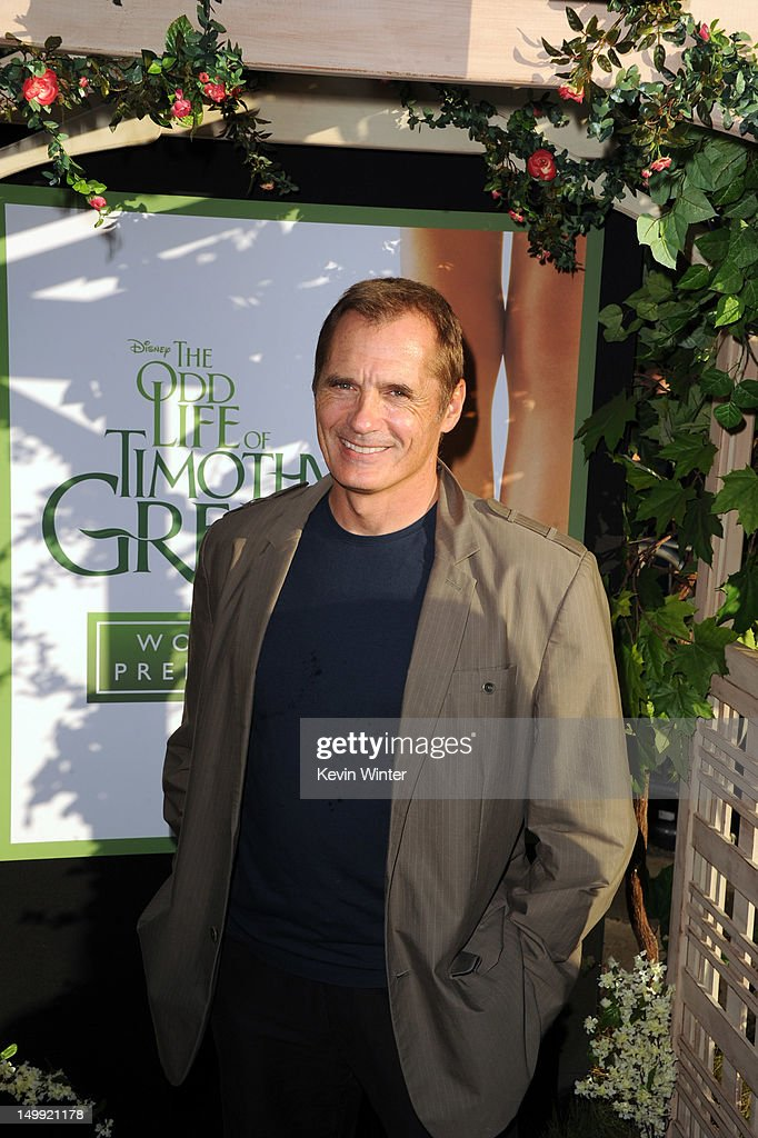 Actor James C. Burns arrives at the premiere of Walt Disney Pictures' 'The Odd Life of Timothy Green' at the El Capitan Theatre on August 6, 2012 in Hollywood, California.