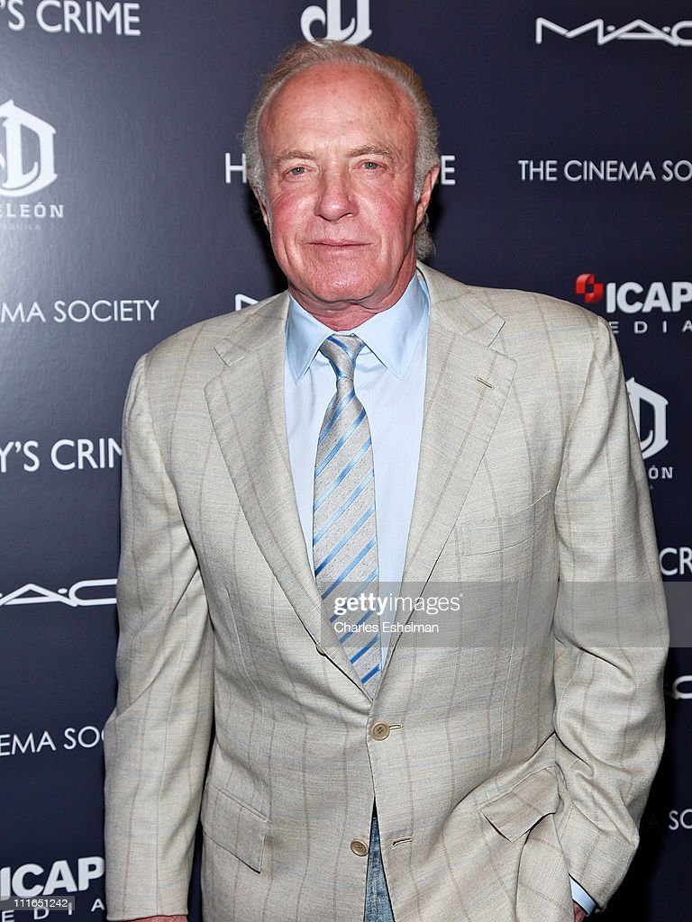 Actor <a gi-track='captionPersonalityLinkClicked' href=/galleries/search?phrase=James+Caan+-+Actor&family=editorial&specificpeople=206773 ng-click='$event.stopPropagation()'>James Caan</a> attends The Cinema Society with DeLeon Tequila and Moving Pictures Film & Television screening of 'Henry's Crime' at Landmark's Sunshine Cinema on April 4, 2011 in New York City.