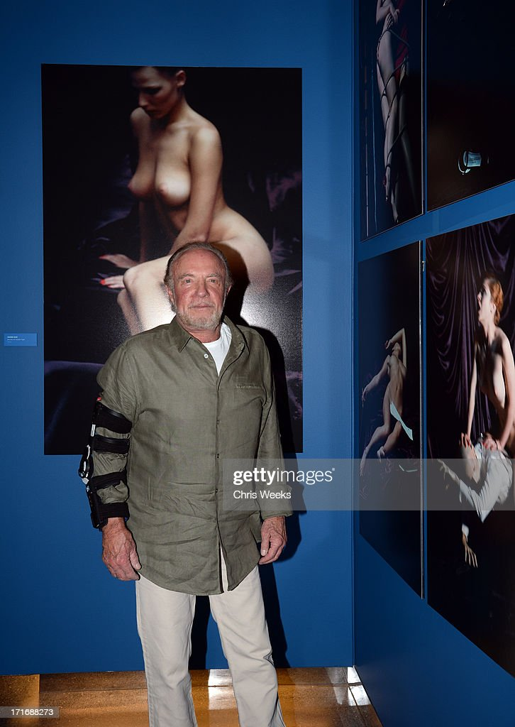 Actor <a gi-track='captionPersonalityLinkClicked' href=/galleries/search?phrase=James+Caan+-+Actor&family=editorial&specificpeople=206773 ng-click='$event.stopPropagation()'>James Caan</a> attends the Helmut Newton opening night exhibit at Annenberg Space For Photography on June 27, 2013 in Century City, California.
