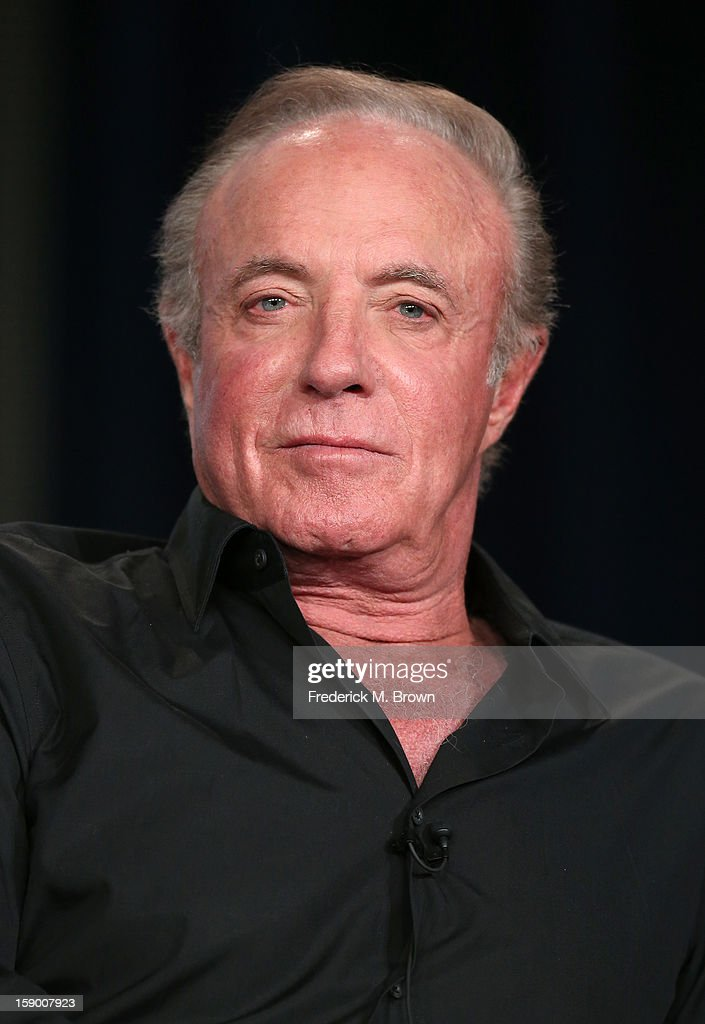 Actor <a gi-track='captionPersonalityLinkClicked' href=/galleries/search?phrase=James+Caan+-+Actor&family=editorial&specificpeople=206773 ng-click='$event.stopPropagation()'>James Caan</a> speaks onstage at the 'Magic City' panel discussion during the Starz portion of the 2013 Winter TCA Tour- Day 2 at Langham Hotel on January 5, 2013 in Pasadena, California.