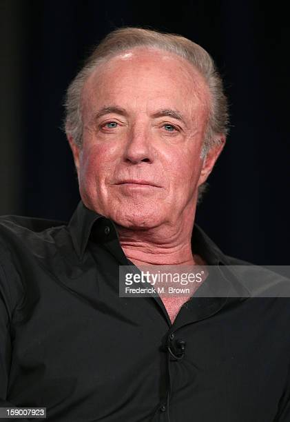 Actor James Caan speaks onstage at the 'Magic City' panel discussion during the Starz portion of the 2013 Winter TCA Tour Day 2 at Langham Hotel on...