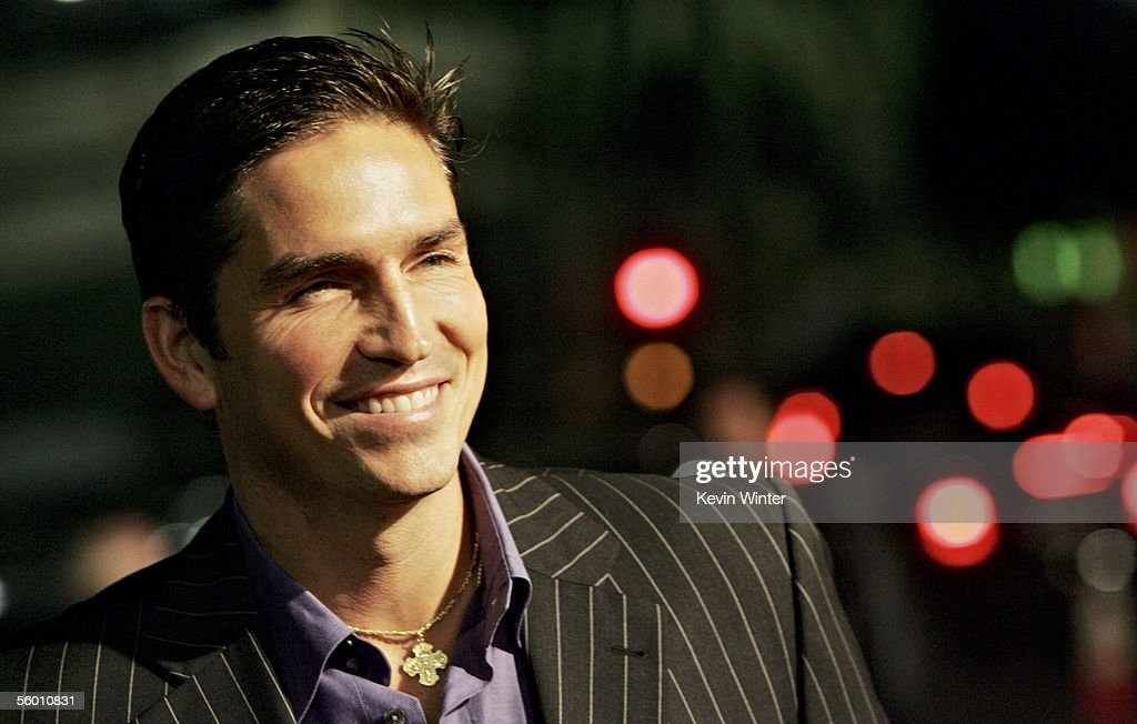 Actor James Caviezel arrives at the 'I Walk The Line: A Night For Johnny Cash' at the Pantages Theatre on October 25, 2005 in Hollywood, California.