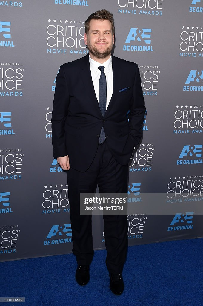 Actor <a gi-track='captionPersonalityLinkClicked' href=/galleries/search?phrase=James+Corden&family=editorial&specificpeople=673860 ng-click='$event.stopPropagation()'>James Corden</a> attends the 20th annual Critics' Choice Movie Awards at the Hollywood Palladium on January 15, 2015 in Los Angeles, California.