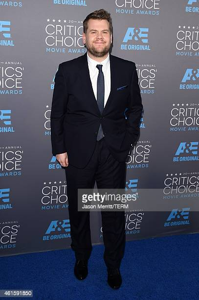 Actor James Corden attends the 20th annual Critics' Choice Movie Awards at the Hollywood Palladium on January 15 2015 in Los Angeles California