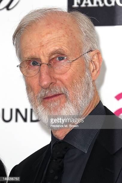 Actor James Cromwell arrives at the 20th Annual Elton John AIDS Foundation's Oscar Viewing Party held at West Hollywood Park on February 26 2012 in...