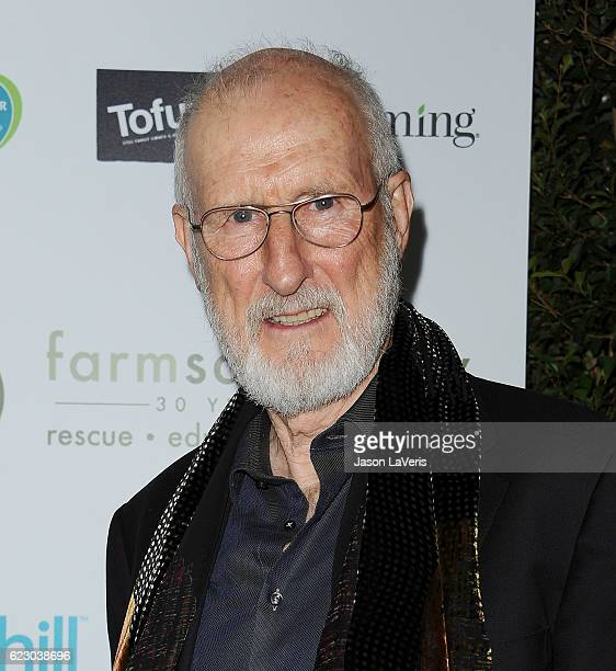 Actor James Cromwell attends Farm Sanctuary's 30th anniversary gala at the Beverly Wilshire Four Seasons Hotel on November 12 2016 in Beverly Hills...