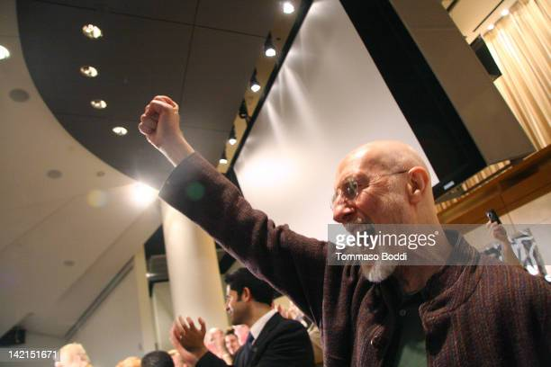 Actor James Cromwell attends the American Federation Of Television And Radio Artists And Screen Actors Guild Press Conference held at the Screen...