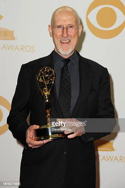 Actor James Cromwell poses in the press room during the 65th Annual Primetime Emmy Awards held at Nokia Theatre LA Live on September 22 2013 in Los...