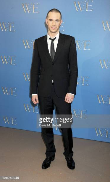 Actor James D'Arcy attends a photocall to promote the new film 'WE' at the London Studios on January 11 2012 in London United Kingdom