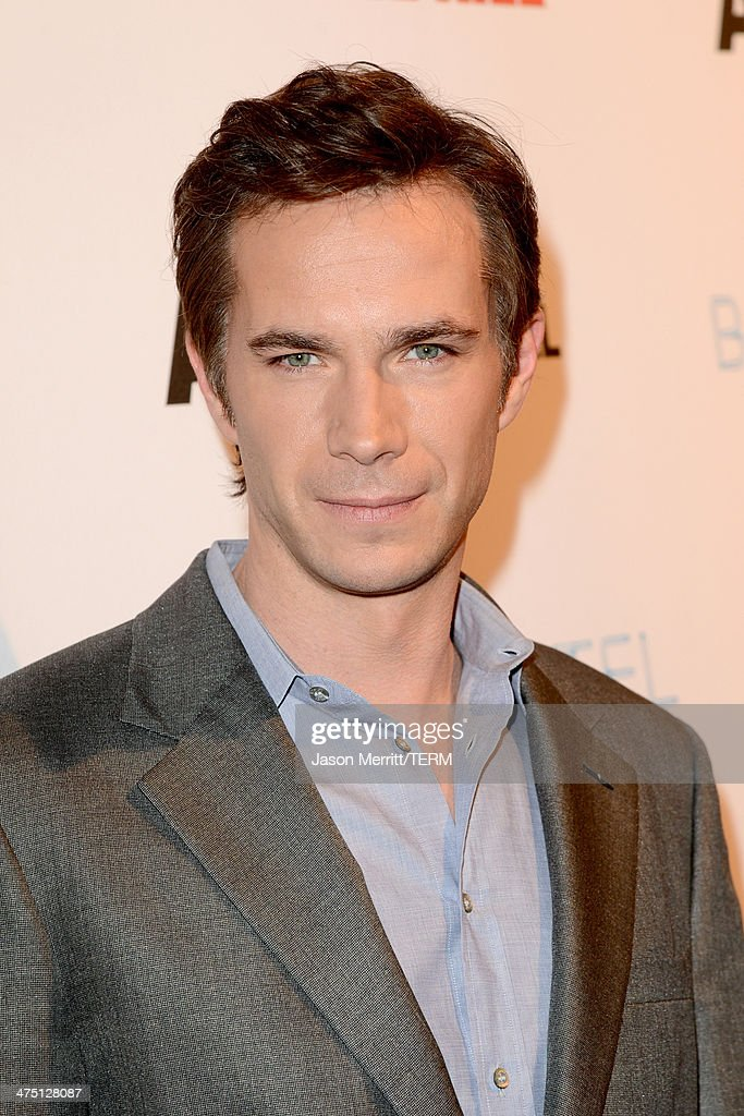 Actor <a gi-track='captionPersonalityLinkClicked' href=/galleries/search?phrase=James+D%27Arcy&family=editorial&specificpeople=228414 ng-click='$event.stopPropagation()'>James D'Arcy</a> attends A&E's 'Bates Motel' and 'Those Who Kill' Premiere Party at Warwick on February 26, 2014 in Hollywood, California.