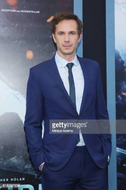 Actor James D'Arcy attends the 'DUNKIRK' New York Premiere on July 18 2017 in New York City