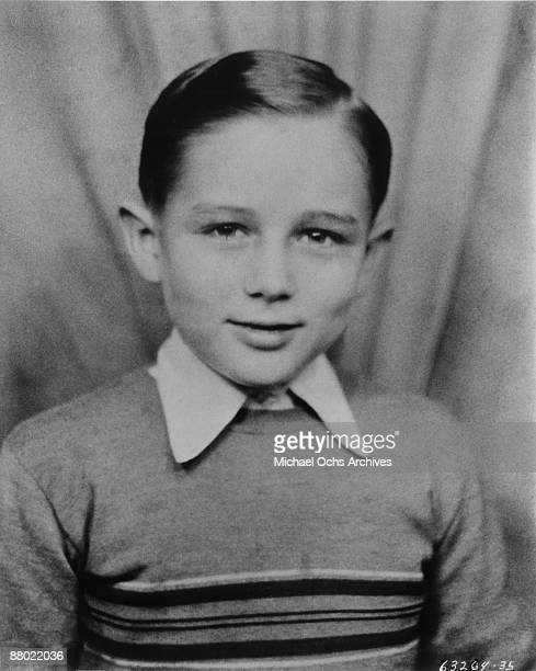 Actor James Dean as a child circa 1938 in Los Angeles California