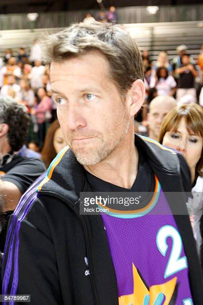 Actor James Denton attends the McDonald's AllStar Celebrity Game held at the Phoenix Convention Center on February 13 2009 in Phoenix Arizona
