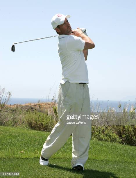 Actor James Denton attends The Salvation Army 2nd Annual Celebrity Invitational Golf Classic on May 29 2008 at the Trump National Golf Club Los...