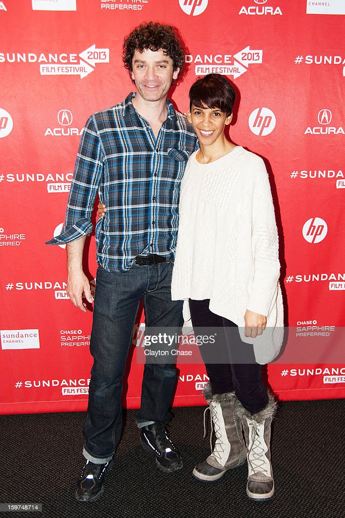 Actor <a gi-track='captionPersonalityLinkClicked' href=/galleries/search?phrase=James+Frain&family=editorial&specificpeople=2240982 ng-click='$event.stopPropagation()'>James Frain</a> and director Marta Cunningham attend the 'Valentine Road' premiere at Temple Theater during the 2013 Sundance Film Festival on January 19, 2013 in Park City, Utah.