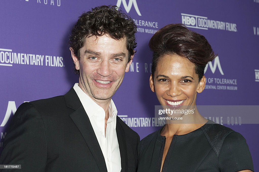 Actor <a gi-track='captionPersonalityLinkClicked' href=/galleries/search?phrase=James+Frain&family=editorial&specificpeople=2240982 ng-click='$event.stopPropagation()'>James Frain</a> and director Marta Cunningham attends the Los Angeles premiere screening of 'Valentine Road' at The Museum of Tolerance on September 24, 2013 in Los Angeles, California.