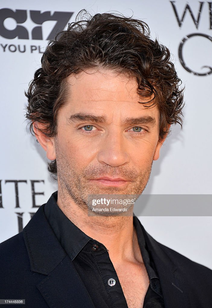 Actor <a gi-track='captionPersonalityLinkClicked' href=/galleries/search?phrase=James+Frain&family=editorial&specificpeople=2240982 ng-click='$event.stopPropagation()'>James Frain</a> arrives at 'Cocktails with the Queen' - the British Consulate's toast to the U.S launch of the Starz original series 'The White Queen' at the British Consul General's Residence on July 25, 2013 in Los Angeles, California.