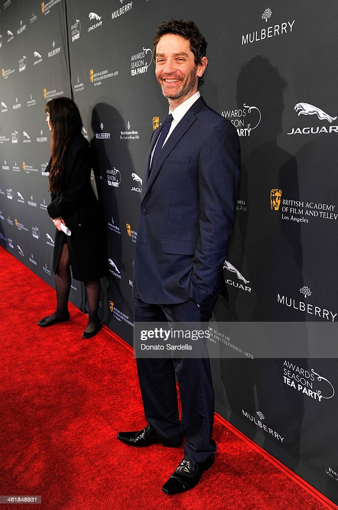 Actor <a gi-track='captionPersonalityLinkClicked' href=/galleries/search?phrase=James+Frain&family=editorial&specificpeople=2240982 ng-click='$event.stopPropagation()'>James Frain</a> attends the BAFTA LA Awards Season Tea Party with Mulberry at the Four Seasons Hotel Los Angeles at Beverly Hills on January 11, 2014 in Beverly Hills, California.
