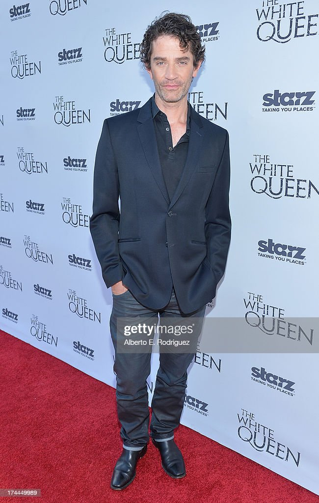 Actor James Frain attends The Brittish Consulate'a toast of the U.S. launch of the Starz original series 'The White Queen' on July 25, 2013 in Los Angeles, California.